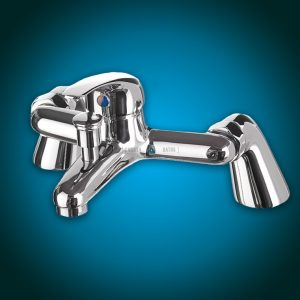 Two-Hole Bath Mixer Faucet