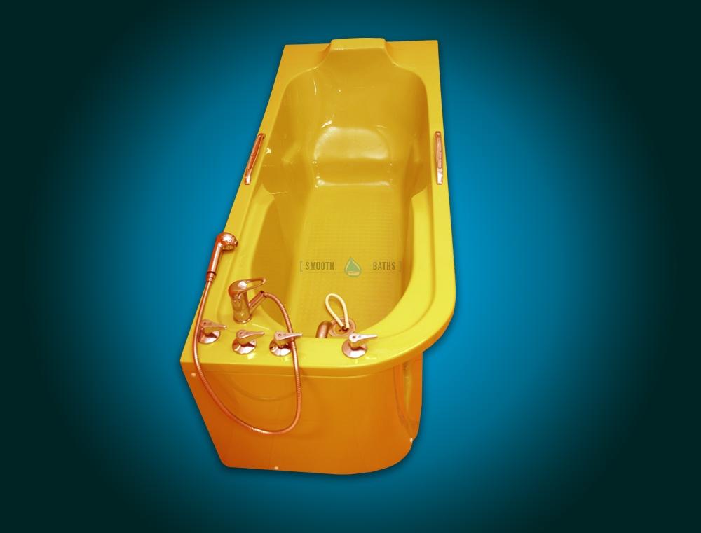 Custom Bath Color service applied to IMPULSE bathtub