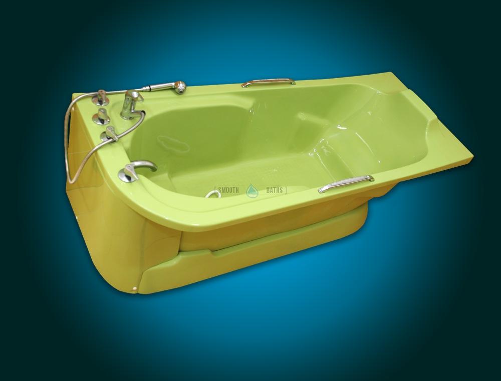 CUSTOM BATH COLOR Service | Walk-In Baths | SMOOTH BATHS