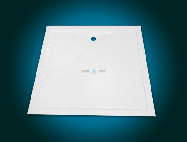 Square shower tray - COMFORT series [top upper view]