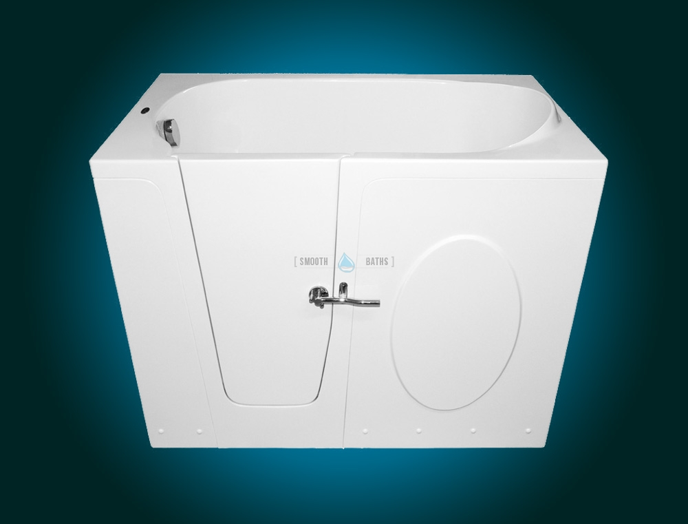 ELEGANCE - walk-in bathtub for elderly and disabled [front leftsided view]