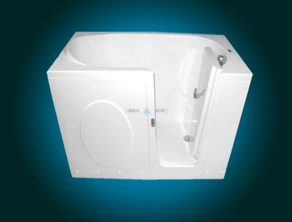 ELEGANCE - walk-in bathtub for elderly and disabled [rightsided front view]