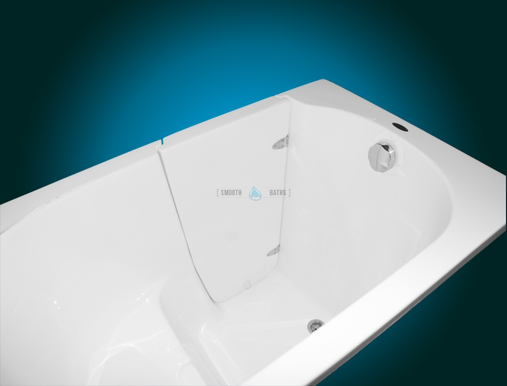 ELEGANCE - Walk In Bathtub for Elderly and Disabled | SMOOTH BATHS