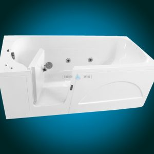 IMPRESSION PLUS - walk-in tub for multigenerational family [front view of left hand side model]