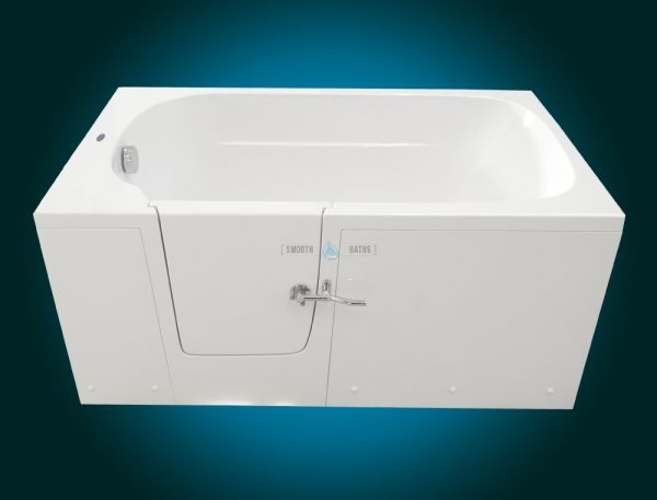 IMPRESSION - walk-in tub for multigenerational family [front view - left hand side model]