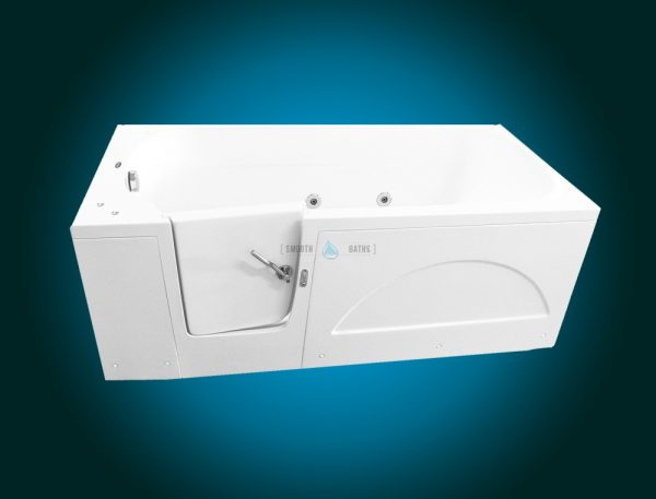 IMPRESSION PLUS - walk-in bathtub for multigenerational family [front view of left hand side model]