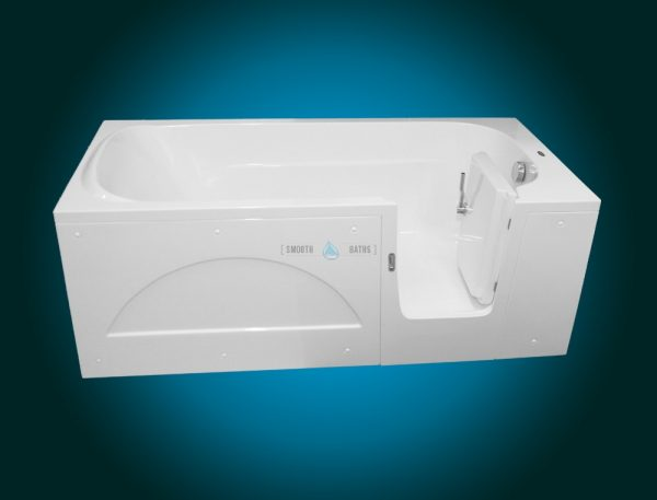 IMPRESSION - walk-in tub for multigenerational family [front view - right hand side model]