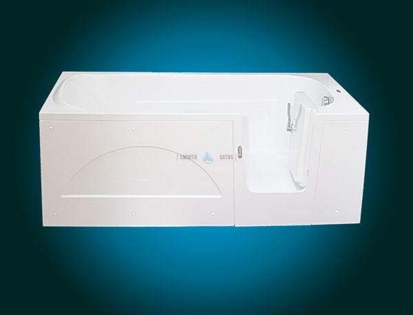 IMPRESSION - walk-in bathtub for multigenerational family [front view - right-hand side model]