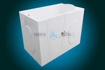 ELEGANCE PLUS - premium walk-in bathtub [front corner view]