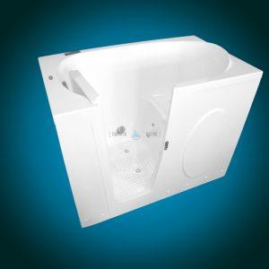 ELEGANCE PLUS - premium walk-in bathtub [open door front view]