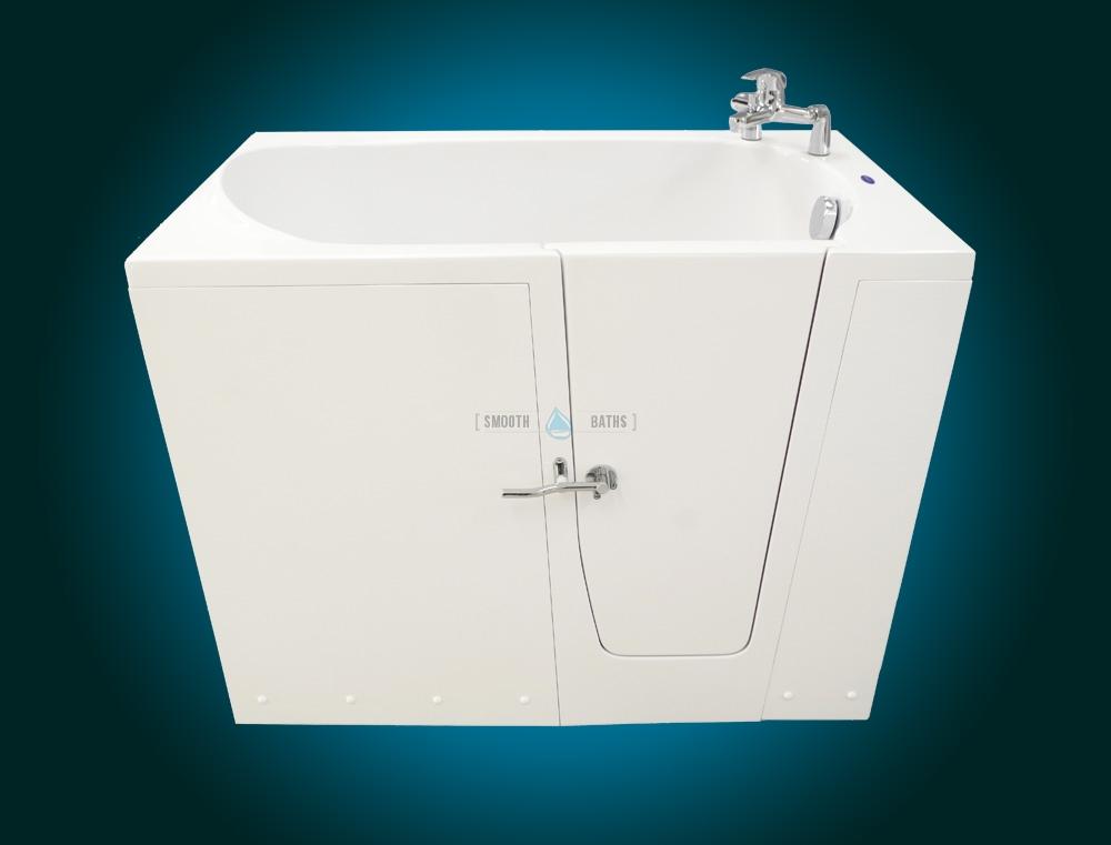 ELEGANCE PLUS - premium walk-in bathtub [faucet on front view]