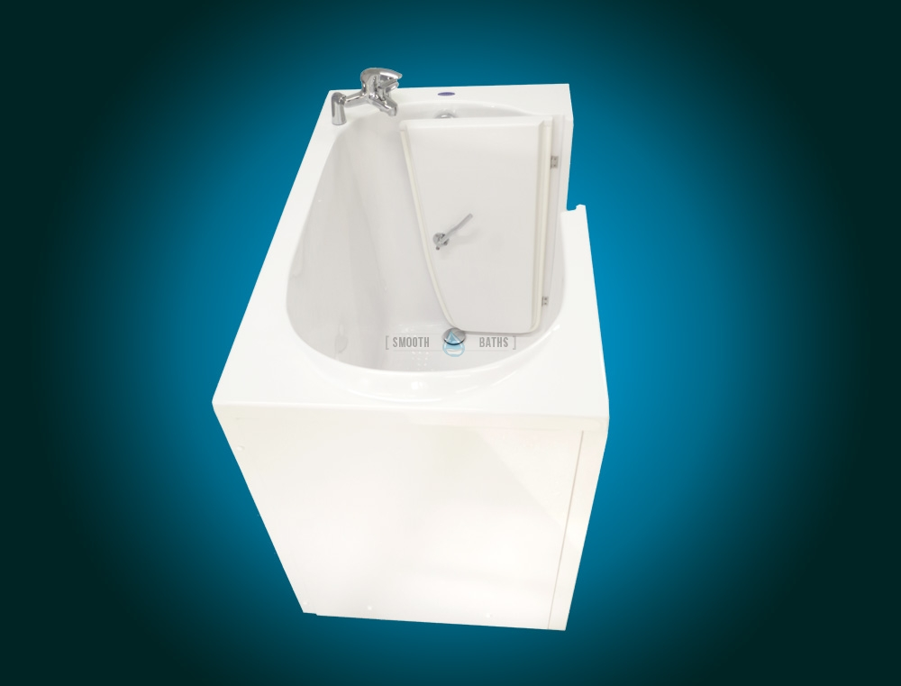 ELEGANCE PLUS - premium walk-in bathtub [frontside upper view]