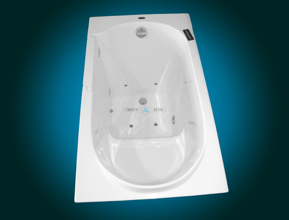 elegance plus - premium walk-in bathtub for seniors | smooth baths
