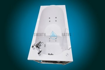 ELEGANCE PLUS - premium walk-in bathtub [upper side view]