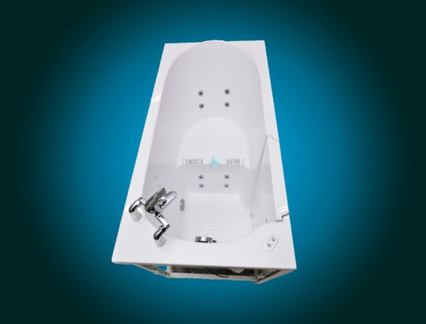 ELEGANCE PLUS - premium walk-in bathtub [upper side view]