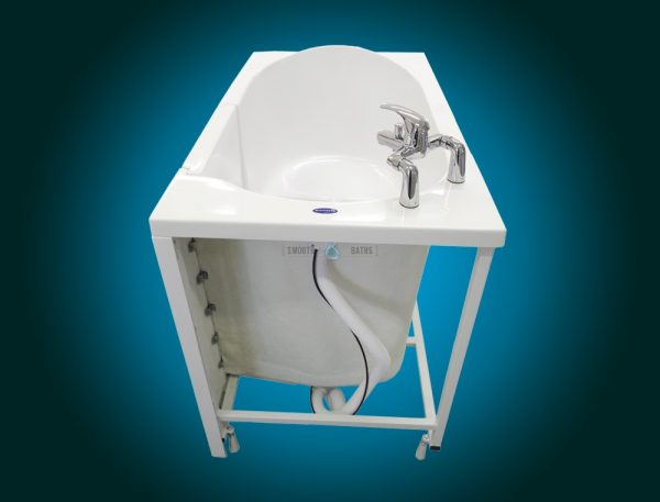 ELEGANCE PLUS - premium walk-in bathtub [back view without panel]