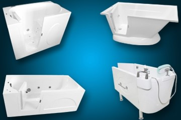 Walk-In Bathtub Selection Banner