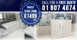 Walk-in Baths Showroom Location - Swords - Dublin - SMOOTH BATHS