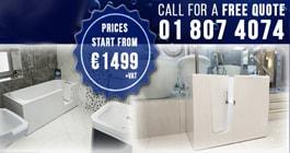 Walk-in Baths Showroom Location - Swords - Dublin - SMOOTH BATHS