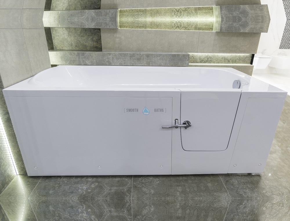 Impression Full Length Walk In Bathtub With Custom Door