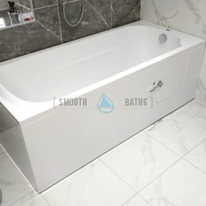 IMPRESSION - full length walk-in bath - currently on display in Dublin (Swords) showroom [BathStore and More]