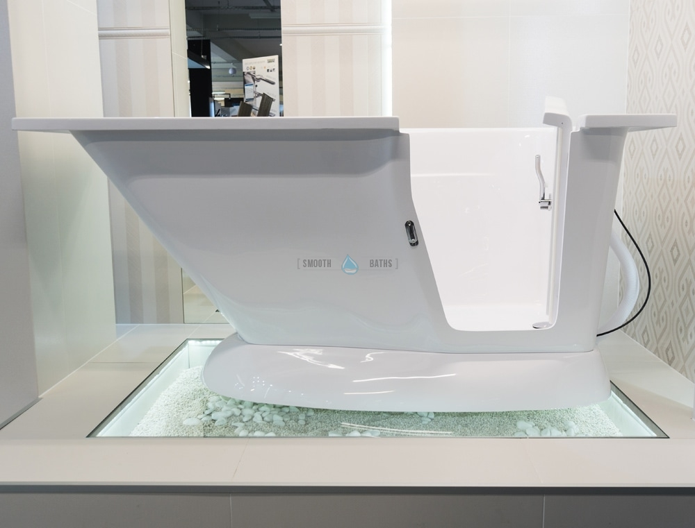 Modern Walk In Bath For Stylish Bathroom Smooth Baths