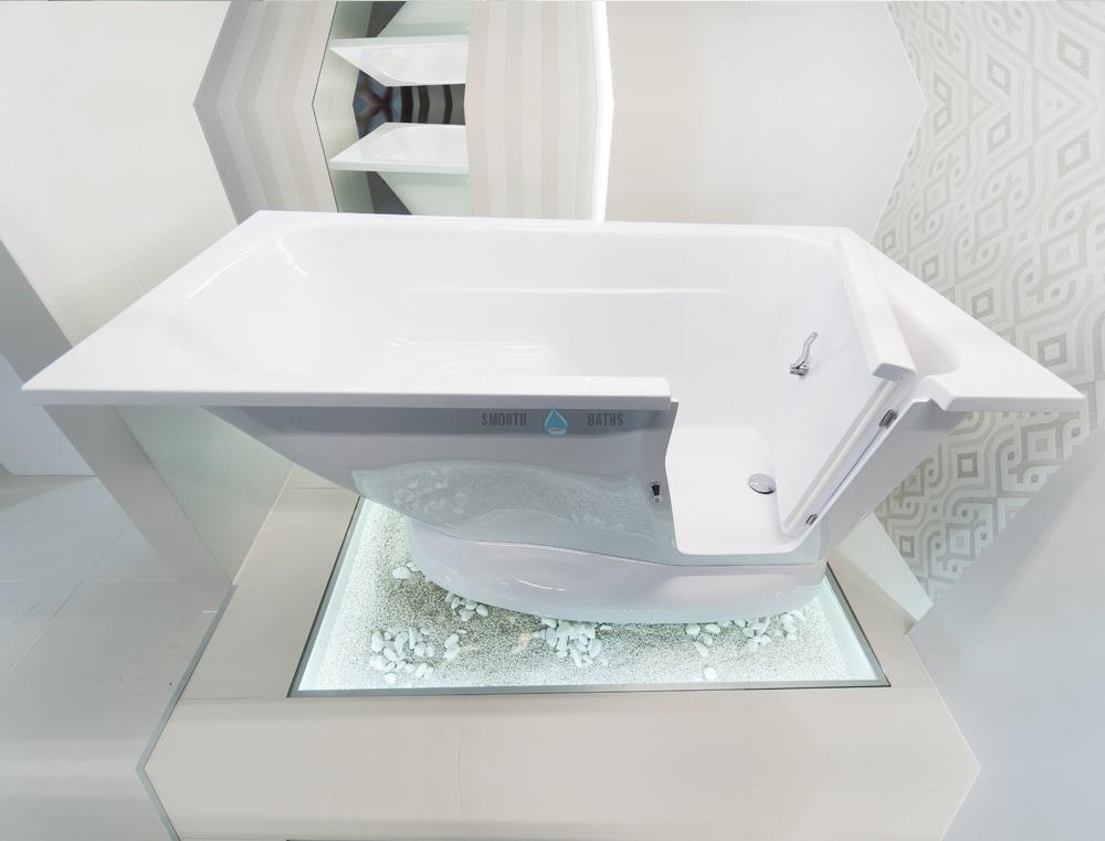 Modern Unique Walk In Bathtub With Door Built In Seat
