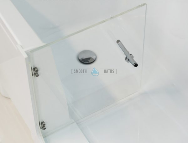 PERFECTION - walk-in bathtub with glass door [brand new models online from SMOOTH BATHS]